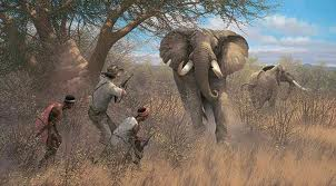 African Ivory Hunters