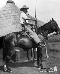 Harry Wolhuter on Horseback