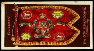 Sixth Inniskilling Dragoons Banner
