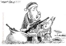 Zapiro's Christmas Celebrations